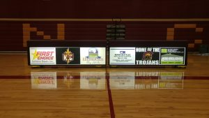 Nampa Christian Schools Table Signage
