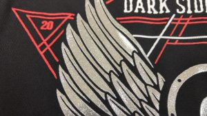 Wing Embroidery