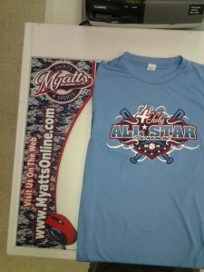 Myatts 4th Of July All Star Tee Shirt