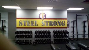 Nampa Christian Fitness Steel Strong Signage