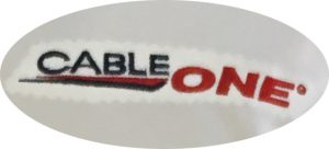 cable one embroidery